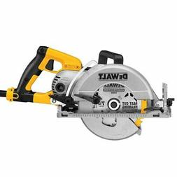 DEWALT 7-1/4 in. Worm Drive Circular Saw with Electric Brake