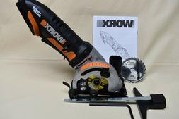 "WORX WX523L 20V PowerShare 3-3/8"" WORXSAW Compact Circular S"