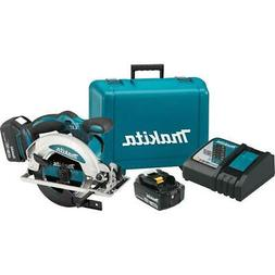 Makita XSS01T 18-Volt 6-1/2-Inch 5.0Ah Lithium-Ion Cordless