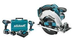 Makita XSS02Z 18V LXT Lithium-Ion Cordless Circular Saw, 6-1
