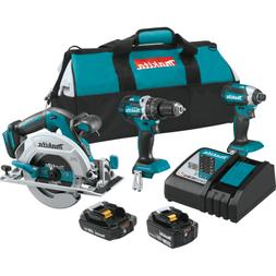 Makita XT333X1 18V LXT Lithium-Ion Brushless Cordless 3-Pc.